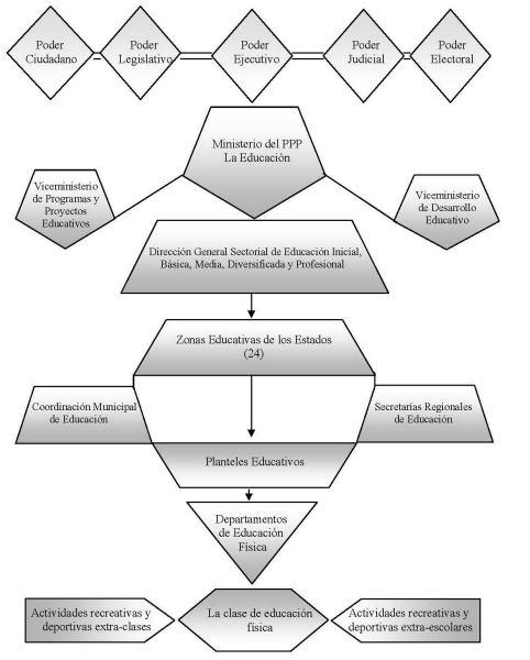 Bases legales y de organización estructural de la