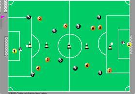 Jogo campo dividido na vertical – jogo com 2 bolas simultâneas. 07ee90486a7ed