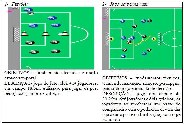 d72f66a583806e Proposta de treinamento integrado de futsal e futebol, na formação ...