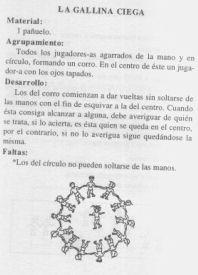 El Juego De La Gallina Ciega Una Actividad Ludico Tradicional A