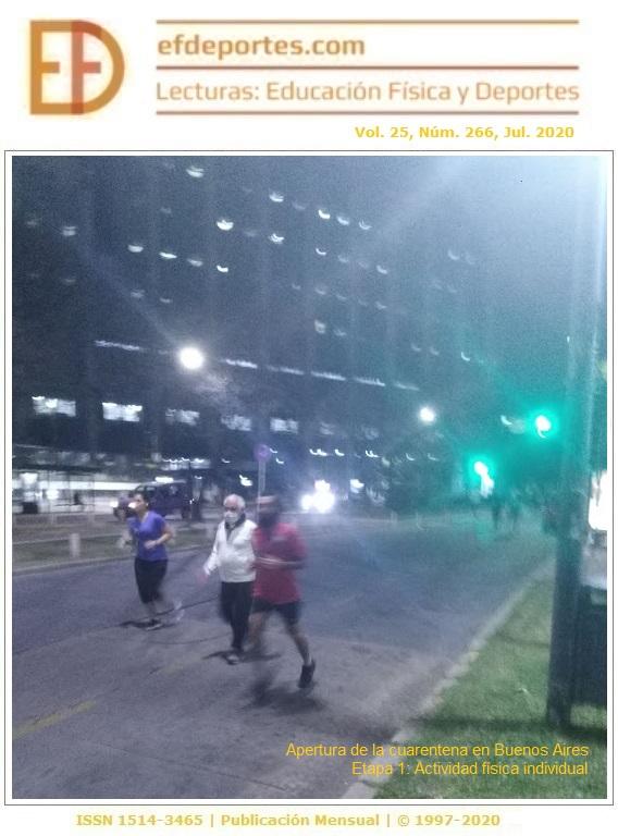 Apertura de la cuarentena en Buenos Aires. Etapa 1: Actividad física individual