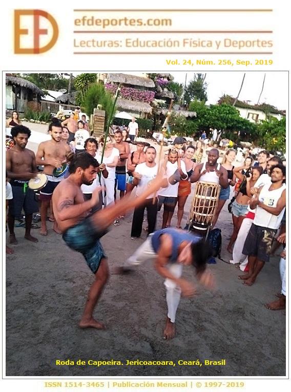 Roda de Capoeira. Jericoacoara, Ceará, Brasil